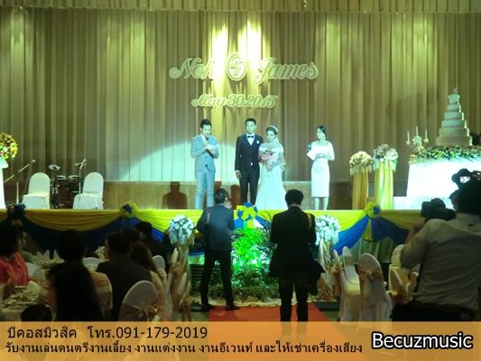 งานแต่งงานที่หอประชุมกองทัพอากาศ_วงดนตรีในงานแต่งงาน_002
